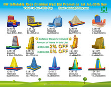 2015 hot Fashion design inflatable rock climbing wall,inflatable commercial water park,lake inflatables water games