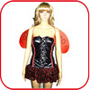 Sexy tutu dresses for girls animal costume cosplay wings costume PGFC-2942