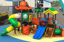 Newest/top sell/child plastic long playground slides