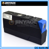 600A 15000mah mini jump starter lithium power bank with car jumper cager