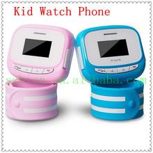 2014 New hot selling Unlocked Cell Phone GPS Kids/Children Wrist Watch Phone