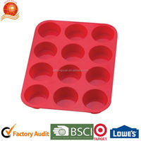 DIY Cupcake dessert cup set FDA food grade silicone molds for cake decorating