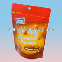 Doypack Dry Fruit/Peanut Packaging Bags/Pouch with zipper design