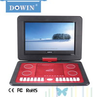 Wholesale High Resolution 11.6 INCH Portable DVD Player with VGA/TV wholesale guality cheap flat screen HD smart USB