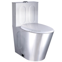 Stainless Steel S Trap P Trap Toilet bowl floor mounted toilet