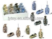 1:63 Grenade Cover 4CH Mini RC Car