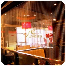 Restaurant of the partition,metal bead curtain