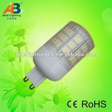 G9 24smd 3.8w high bright 330lm dimmer
