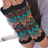 Cheap Sale Stock Winter Knitted Boho Arm Sleeve Wholesale