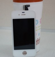 wholesale lcd with digitizer assembly for iphone 4 Color white