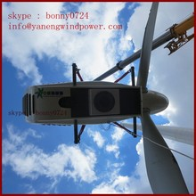 Porcellana produttore di turbine eoliche, 60kw turbina eolica/turbina eoliche 60 kW per mercato italia