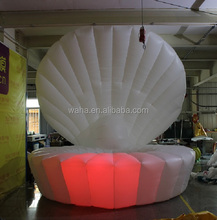 Fantasy!!! event decoration inflatable shell model/replica/cartoon/custom/for party/club/stage/performance decoration-4m W1036