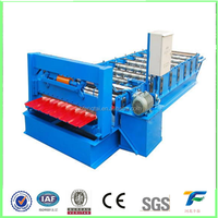 840 Automatic galvanized roof sheet apical color steel plate tamping plant roll forming machine