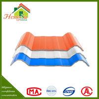 Professional manufacturer 3 layer long term color stability shingle plastic pvc roof tile