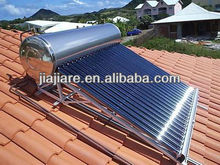 Beautiful designed and excellent quality stainless steel pressurized solar hot water heater