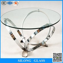 12mm tempered glass dining table and tempered glass door for sale