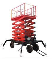 Hydraulic electric lift ladder /10m elevated work platform