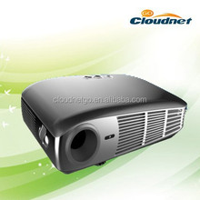 Cloudnetgo CRD2 Home cinema Full HD 3D DLP ansi short throw led projector 2200 lumens support 1080p 3D Blu Ray, 50000 hours life