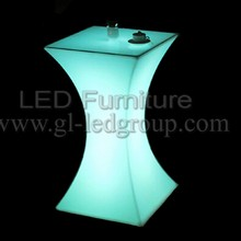 led light manufactuer LED bistro table waterproof cocktail table