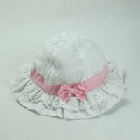 Popular fashion Cute kids hats and caps summer girls bucket baby hats