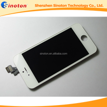 Free DHL shipping alibaba import china products mobile phone lcd touch screen for iphone 5