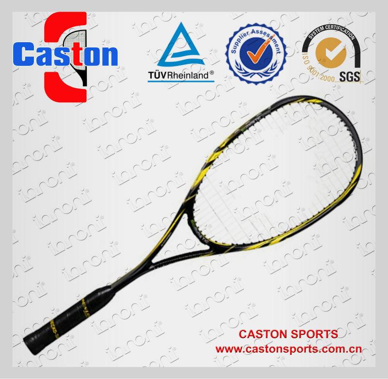 Barato de alta qualidade profissional de carbono grafite raquete de squash