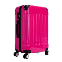 Stocklots Overstock Left over ABS PC hard case trolley luggage, surplus travel bag holdall, excess inventory suitcase set