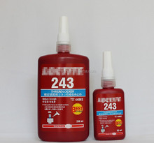 High quality 243 Oil-resistant seal glue anaerobic applicable disassemble metal screws