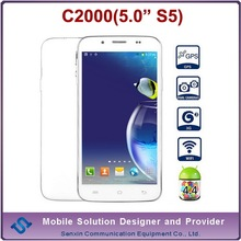 Star C2000 mobile phone MTK6582 quad core 5.0 inch hong kong cell phone prices