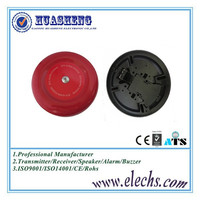 Hot selling high quality 12v or 24v red color fire alarm call bell