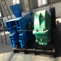 High output various types coal and charcoal powder briquette making machine