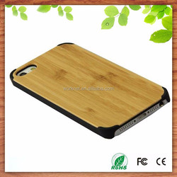 Shenzhen Worknet China wholesale factory real natural wood bamboo mobile phone cover for iphone 6 6plus
