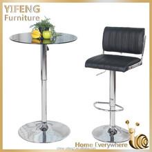 Custom made High Quality Golden leaf luxury bar chair