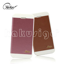 New coming professional leather universal flip phone case for iphone 5 5s