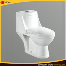 Newest one piece closestool chinese ceramic wc toilet size