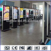 hotel lcd advertising display/shoe shining advertising player/advertisement equipment