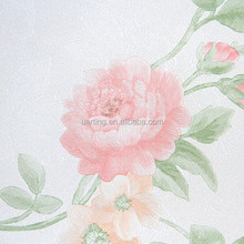 flower decoration wallpaper/wall paper/wall covering from china factory