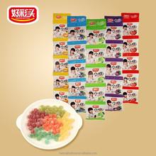 33g sugar coated juicy gummy candy with fantastic taste