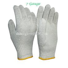 white cotton finger protection