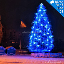 Artificial Christmas tree decoration with star/led string light,holiday decoration
