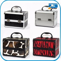 10 years experienced factory customized beauty aluminum cosmetic case