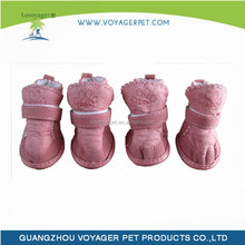 Lovoyager 2014 winter pet shoes suede dog boots