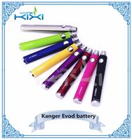 In Stock!! 2015 new design kanger evod vv battery lanyard,evod battery 3 indicator lights