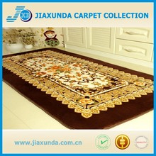 European-style Rose Flowers Carpet Large Living Room Carpet Garden Strip Thick Raschel Rugs Soft Bedside Mat