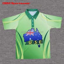 Fashion printing polo sports man