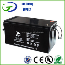 Sealed Maintenance Free 12v 200ah Gel Deep Cycle Battery for Solar PV Wind Power Storage
