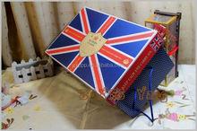 Elegant printed custom packaging sweet box with window