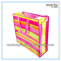 pp woven handbag China manufacturer with zipper for shopping