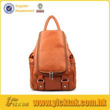 moda mochila de cuero bolsa