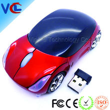 Wireless Car Shaped Mouse Cordless 2.4 GHz Optical Mouse for Computer PC
